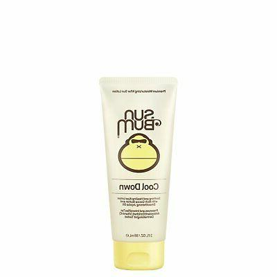 Sun Bum Cool Down Hydrating After Sun Lotion, 3 oz Tube, 1 C
