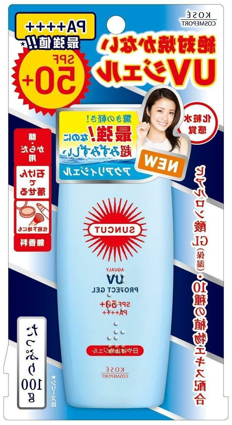 Kose sunscreen gel no From
