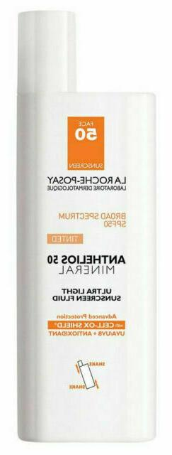 La Roche-posay Anthelios 50 Mineral Tinted Ultra Light Sunsc