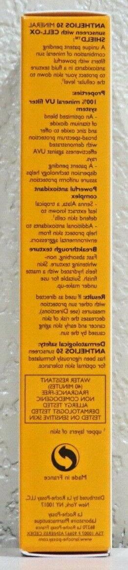 LA Anthelios 50 Mineral Light Sunscreen Fluid 1.7oz