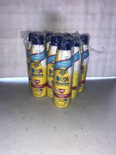lot of 8 kids sunscreen lotion spray