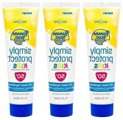 Banana Boat Mineral-Based Sunscreen Lotion for Kids, SPF 50+