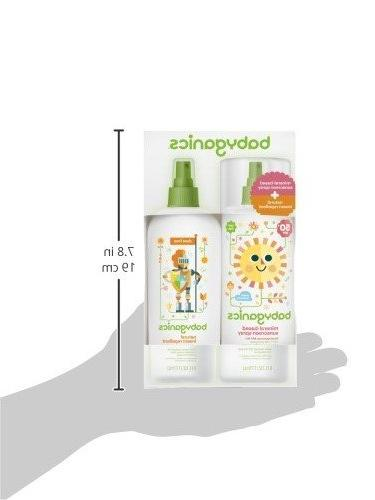 Babyganics Baby Spray Bottle Natural Insect Repellent 6oz Spray Combo