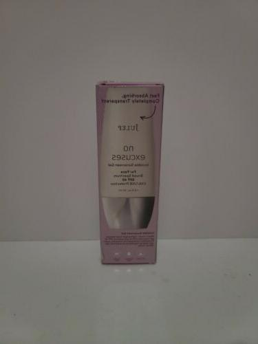 no excuses invisible face sunscreen gel spf
