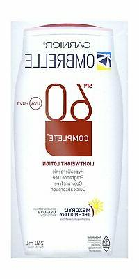 Ombrelle Sunscreen SPF60 w/ MEXORYL LARGE 8 oz / 240 mL {Can