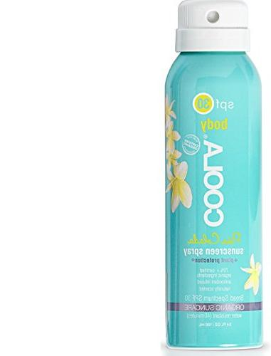 Coola Suncare Suncare Pina Colada Sport Sunscreen Spray SPF