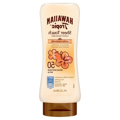 Hawaiian Tropic Sheer Touch Lotion SPF 50 Sunscreen-8 oz