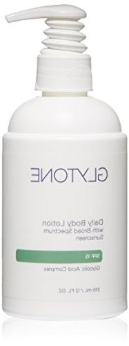 Glytone Body Lotion SPF 15, 12 Fluid Ounce