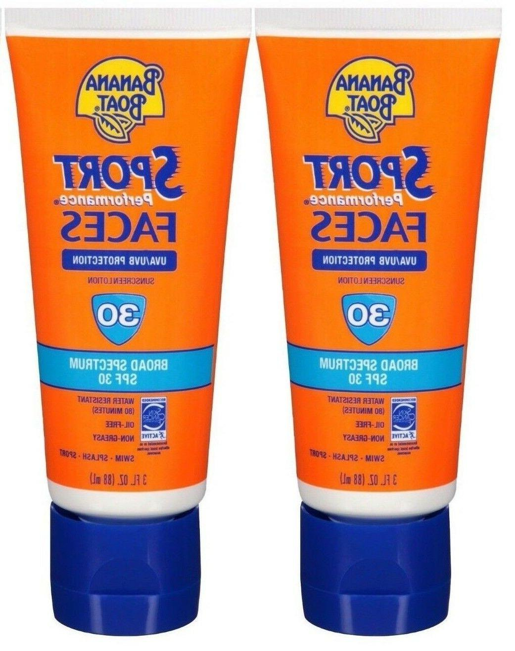 sport performance faces sunscreen lotion spf 30