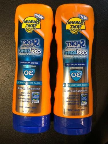 sports cool zone sunscreen lotion spf 30