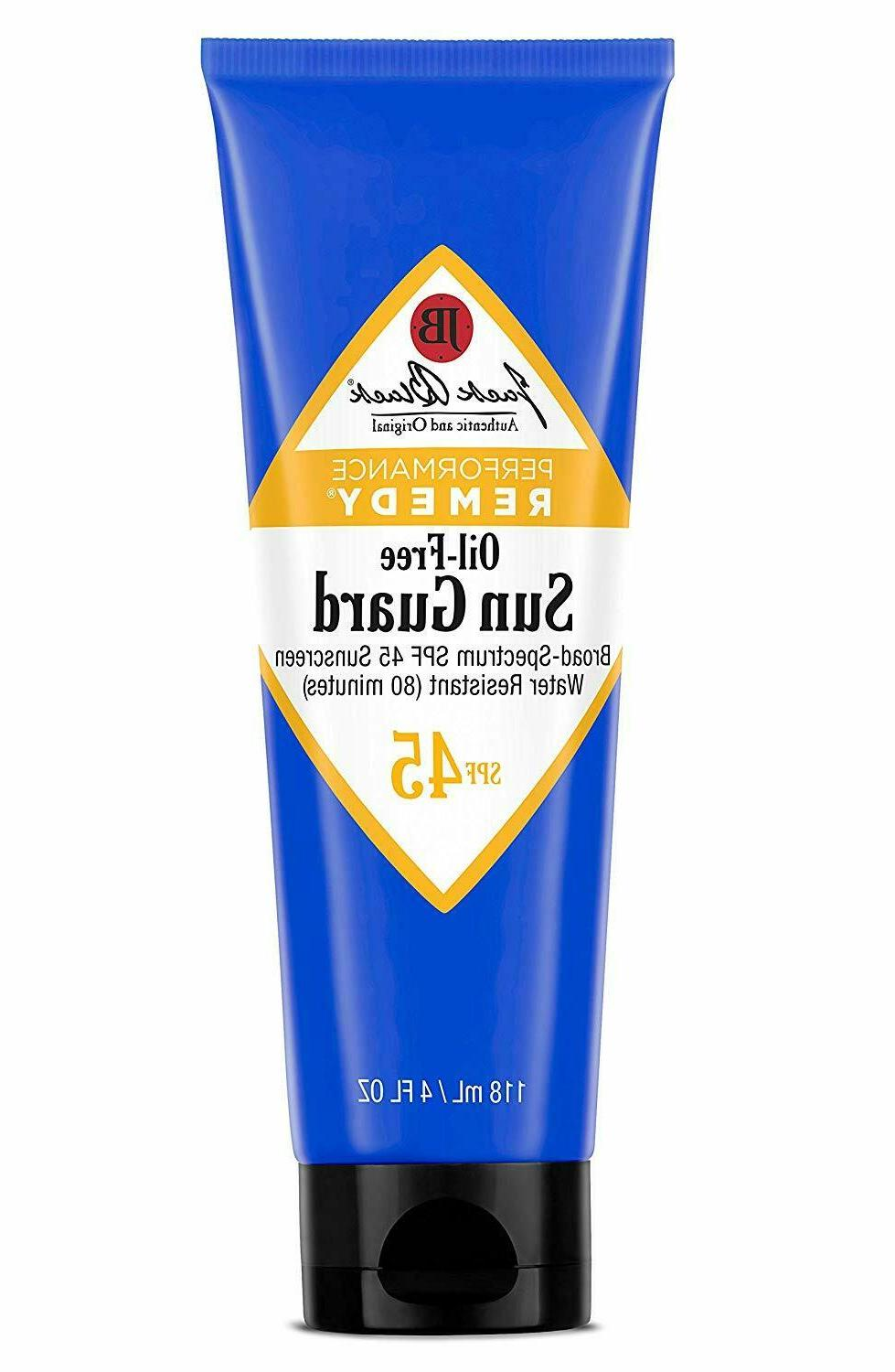 JACK BLACK – Oil-Free Sun Guard SPF 45 Sunscreen – Perfo
