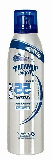 Hawaiian Tropic Ultimate Ozone SPF50 Sunscreen Continuous Cl