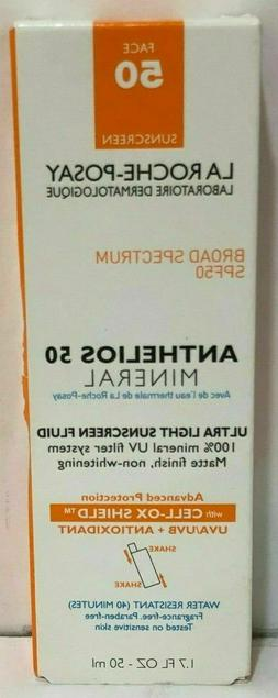 La Roche-Posay Anthelios 50 Mineral Ultra Light Sunscreen Fl