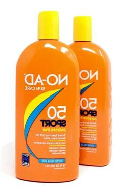 NO-AD Sport SPF 50 Sport Sunscreen Lotion Paraben Free - 2