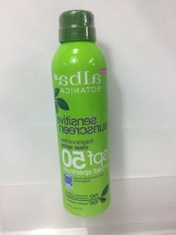 Alba Botanica Sensitive Sunscreen Fragrance Free Clear Spray