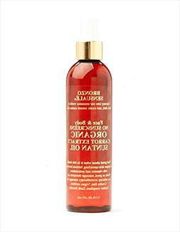 Bronzo Sensualé® SPF 0 Certified Organic Carrot Oil for th