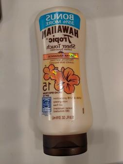 spf 15 sheer touch sunscreen radiance lotion