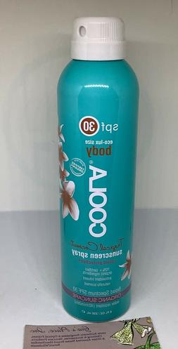 COOLA SPF 30 Body Classic SUNSCREEN 08/17 Eco-Lux TROPICAL C