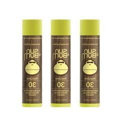 Sun Bum SPF 30 Lip Balm Key Lime 3 Pack