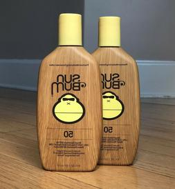 Sun Bum SPF 50 8oz Lotion - 2 Pack!!
