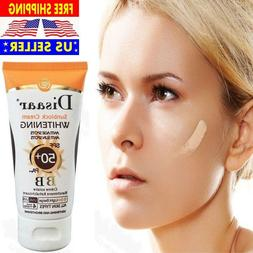 SPF 50+ SUNBLOCK CREAM WHITENING ANTI AGING SUN SPOTS  LIGHT