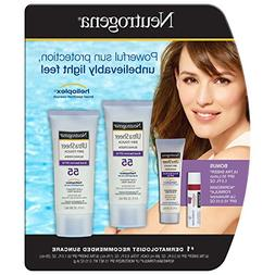 NEW 2 PACK NEUTROGENA SPF 55 ULTRA SHEER DRY-TOUCH SUNSCREEN