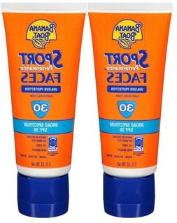 Banana Boat Sport Performance Faces Sunscreen Lotion SPF 30,