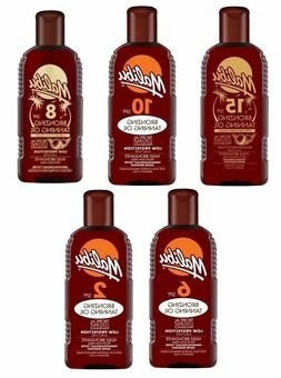 MALIBU SUN BRONZING TANNING OIL 200ML ARGAN AND COCONUT FAST
