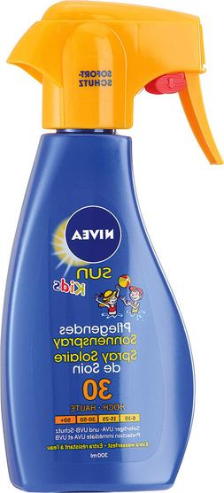 Nivea Sun Kids Sunscreen Spray Pump SPF 30 - 300ml- Made in