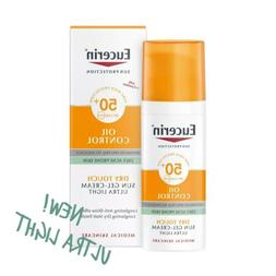 sun oil control dry touch spf50 gel