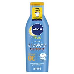 Nivea Sun Protect & Bronze Sun Lotion - SPF30 High