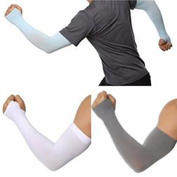 Sunscreen Cooling Arm Sleeves Skin Cover UV Sun Protection F
