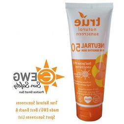 TRUE NATURAL SUNSCREEN SPF50 UNSCNT, 3.4 FO