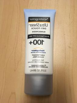 Sunscreen Neutrogena Ultra Sheer Dry-Touch SPF 100+ 3oz Heli