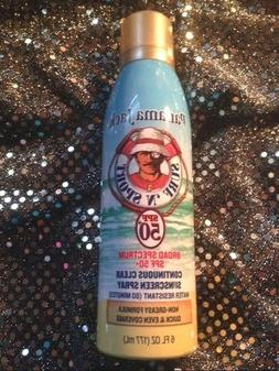 PANAMA JACK SURF N SPORT SPF 50+ CONTINIOUS CLEAR SUNSCREEN