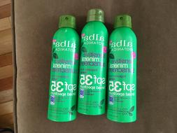 Three  ALBA BOTANICA SENSITIVE MINERAL SUNSCREEN FRAGRANCE F