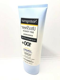 Neutrogena Ultra Sheer Dry-Touch Sunscreen Broad Spectrum SP