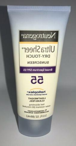 Neutrogena Ultra Sheer Dry-Touch Sunscreen, SPF 55, 3 oz