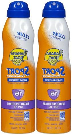 Banana Boat UltraMist Sport SPF 15 Sunscreen w/High UVA, 6 o