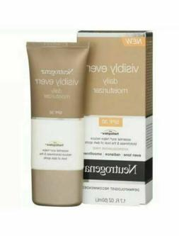 Neutrogena Visibly Even Daily Moisturizer SPF 30 1.70 oz