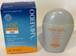 SHISEIDO Wet Force Sports BB SPF 50+ LIGHT/NATURAL Broad Spe