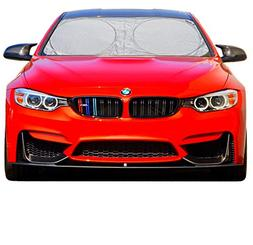 A1 Shades Windshield Sun Shades Exact Fit Size Chart for Car